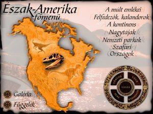 Észak-Amerika CD, főmenü