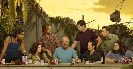 A Lost színészei Az utolsó vacsora pozíciójának megfelelően