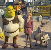 Shrek, Artúr és Szamár