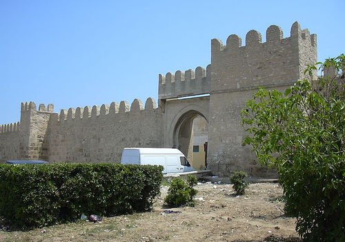 A vár bejárata Sousse-ban