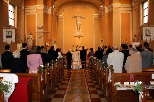 A templomi esküvő