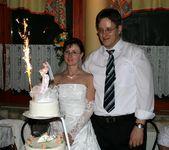 Mi és az esküvői tortánk