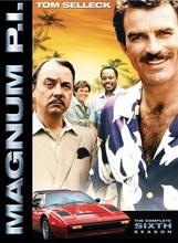 A harmadik évados Magnum DVD borítója