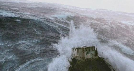 A Himalája, amint elönti a cunami