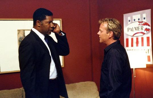 Palmer elnök és Jack Bauer a 24 című sorozatban