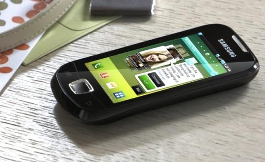 Samsung Galaxy 3 reklámfotó