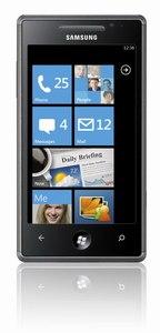 Samsung Omnia 7 készülék Windows 7 operációs rendszerrel