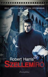Robert Harris: Szellemíró, a könyv borítója