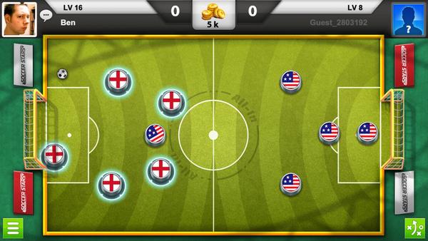 Soccer Stars pálya