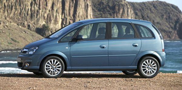 Opel Meriva sajtófotó